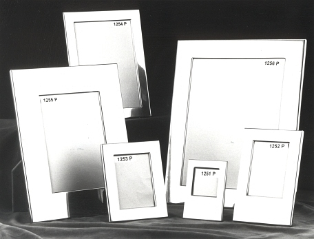 Pewter and Sterling Frames